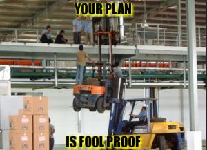 Forklift Danger